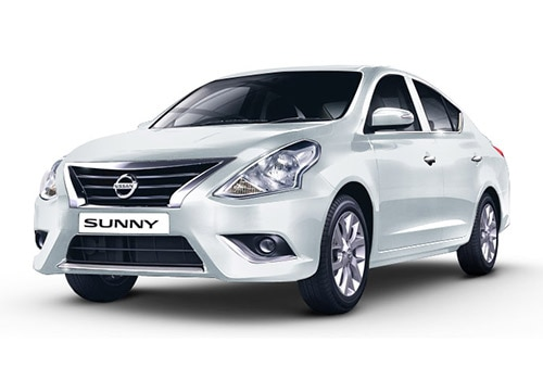 Nissan SunnyPearl White Color
