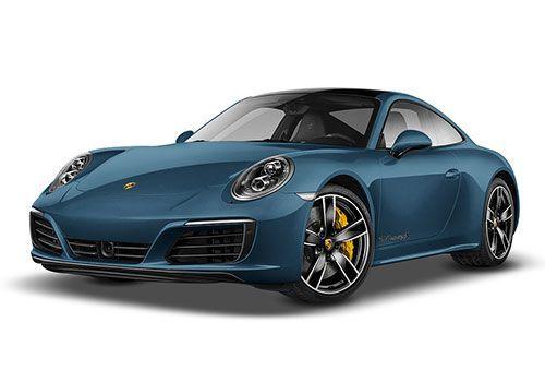 Porsche 911Sapphire Blue Color