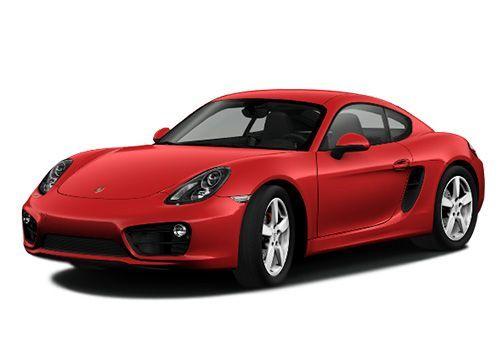 Porsche CaymanGuards Red Color
