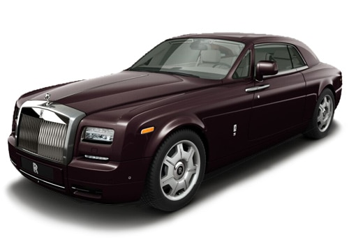 Rolls Royce PhantomMadeira Red Color