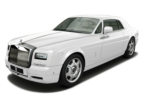Rolls Royce PhantomArctic White Color