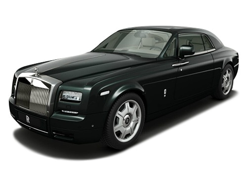 Rolls Royce PhantomBlack Green Color