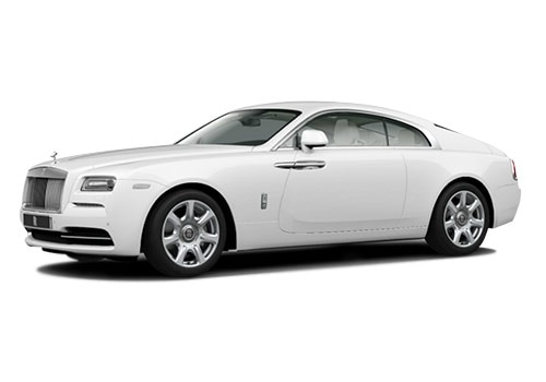 Rolls Royce WraithArctic White Color