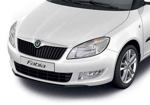 Skoda FabiaCandy White Color