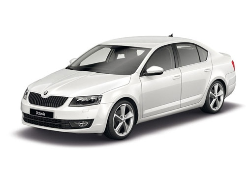Skoda OctaviaCandy White Color