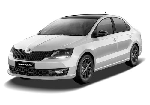 Skoda RapidCandy White Color
