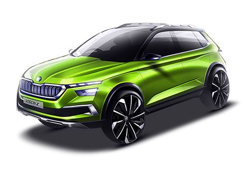 Skoda Vision X Price in India, Launch Date, Images & Review