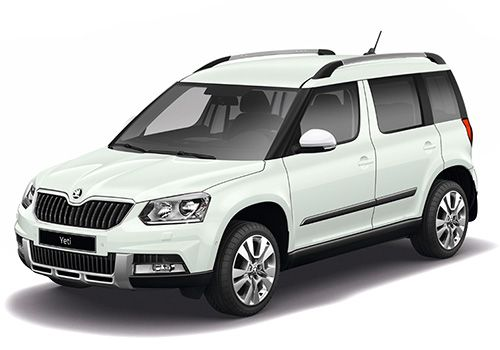 Skoda YetiCandy White Color