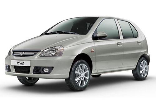 Tata Indica eV2Jet Silver Color