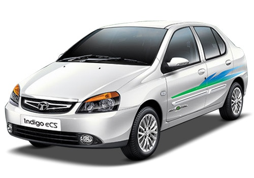 Tata Indigo eCSMint White Color