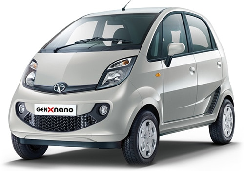 Tata NanoMeteor Silver Color