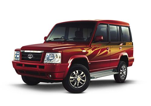 Tata Sumo Blazing Red