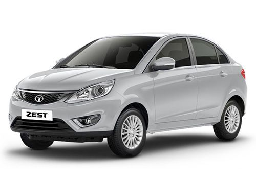 Tata ZestPlatinum Silver Color