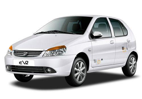 Tata Indica V2 Turbo Mint White