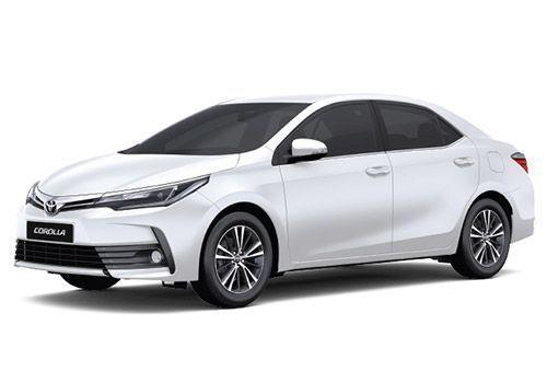 Toyota Corolla AltisSuper white Color