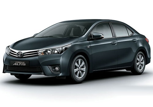Toyota Corolla Altis 2013-2017Grey Metallic Color