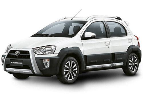 Toyota Etios CrossWhite Color