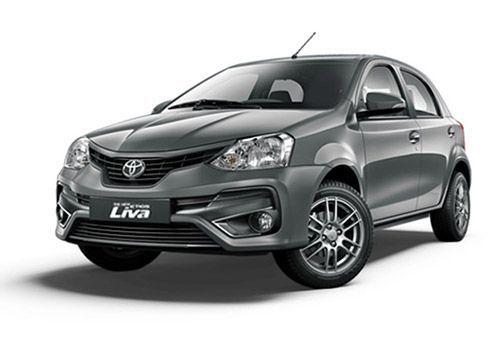 Toyota Etios LivaClassic Grey Color