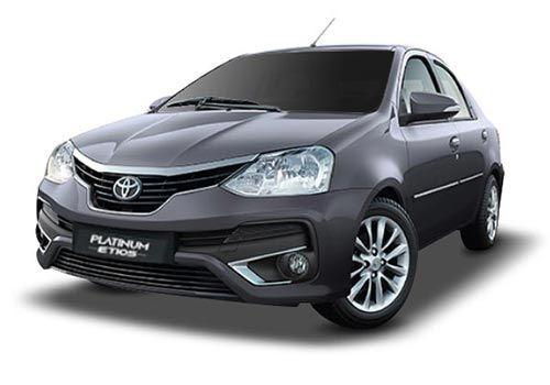 Toyota Platinum EtiosClassic Grey Color