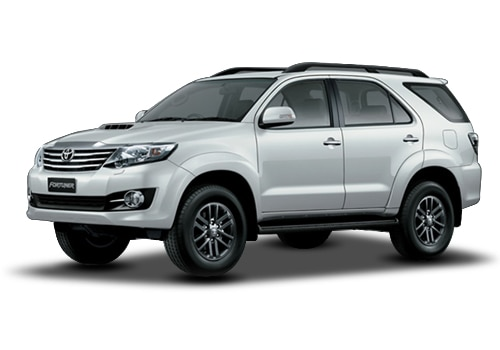 Toyota Fortuner 2011-2016Super white Color