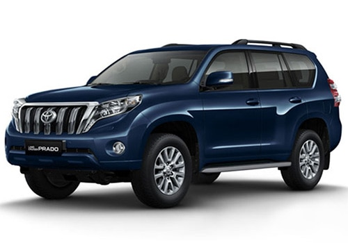 Toyota Land Cruiser PradoDark Blue Metallic - LC Prado Color