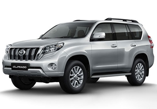 Toyota Land Cruiser PradoSilver Metallic Color