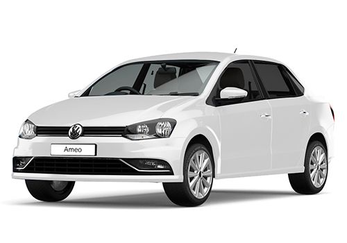 Volkswagen AmeoCandy White Color
