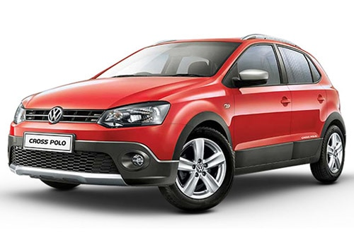 Volkswagen CrossPoloFlash Red Color