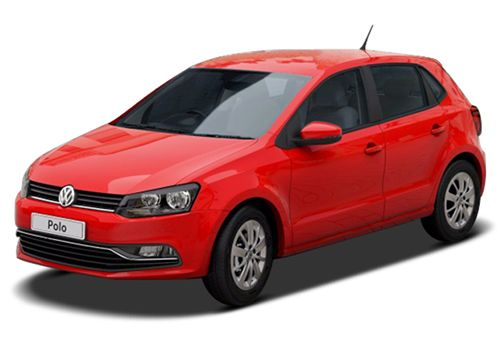 Volkswagen PoloFlash Red Color