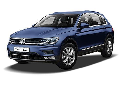 Volkswagen TiguanAtlantis Blue Color