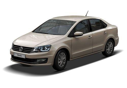 Volkswagen VentoTitanium Beige Color