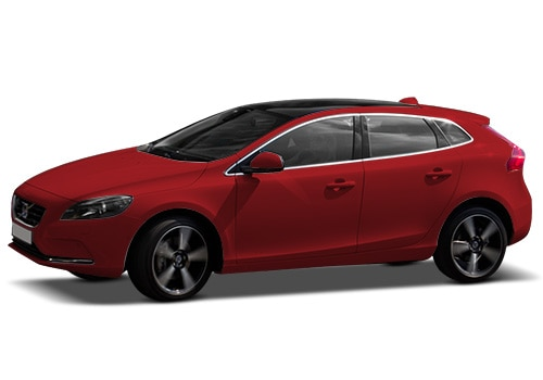 Volvo V40 Cross Country 2013-2016Passion Red Color