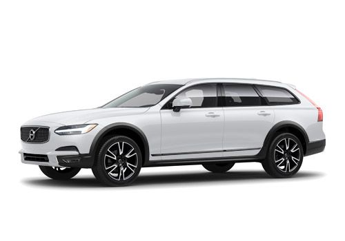 Volvo V90 Cross CountryCrystal White Pearl Metallic Color