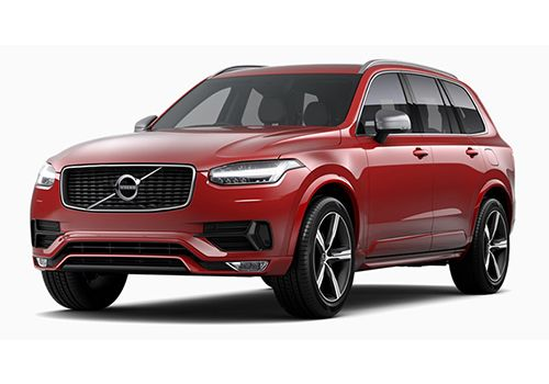 Volvo XC90Passion Red Color