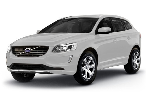 Volvo XC60Crystal White Pearl Metallic Color