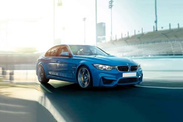 BMW M Series Front Left Side Image