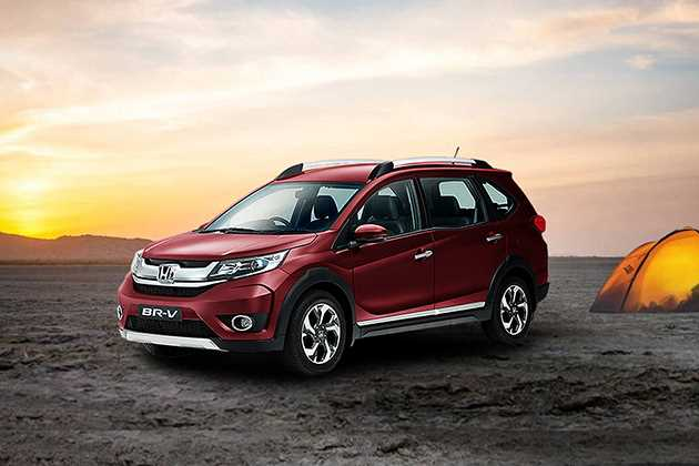 Honda BRV On Road Price In Noid