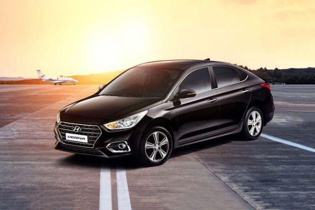 Hyundai Verna On Road Price in faridabad - ₹ 7,89,990.00, Get EMI