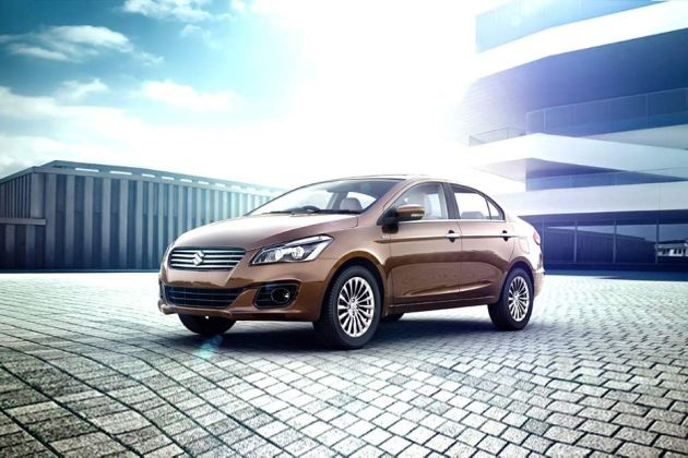 Maruti Ciaz Front Left Side Image