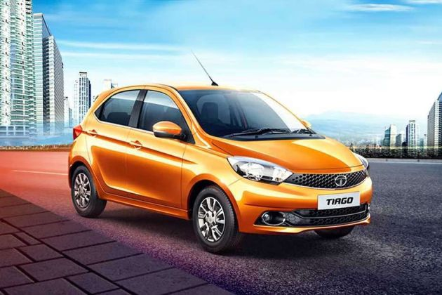 Tata Tiago Front Left Side Image