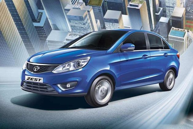 Tata Zest XMS Petrol front-side view