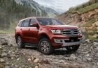 Ford Endeavour 2019 Front Right View