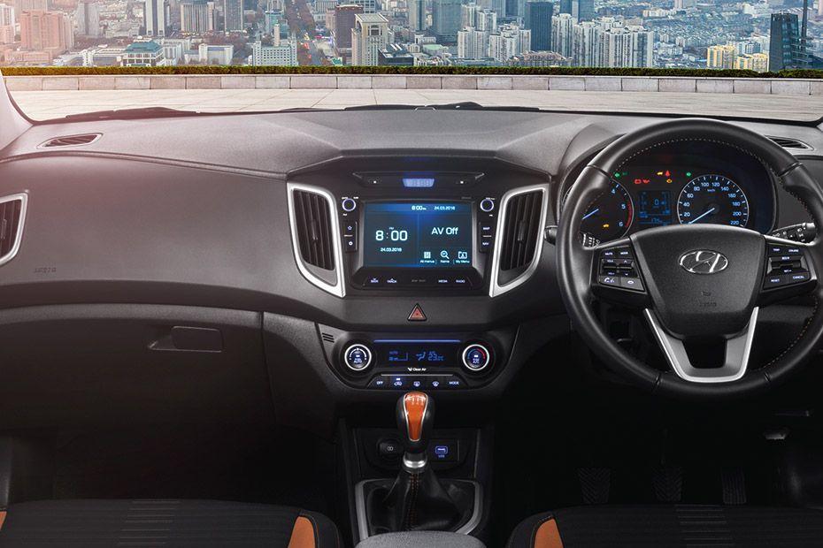 Hyundai Creta DashBoard Image