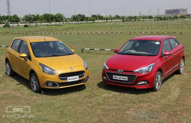Fiat Punto Evo vs Hyundai Elite i20