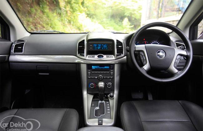 2012 Chevrolet Captiva 2.2 LTZ Captivation Reincarnated | CarDekho.com