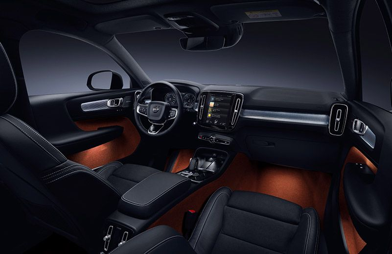 Volvo XC40-interior