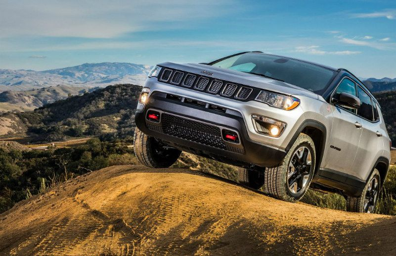jeep compass trailhawk production starts in india. Black Bedroom Furniture Sets. Home Design Ideas