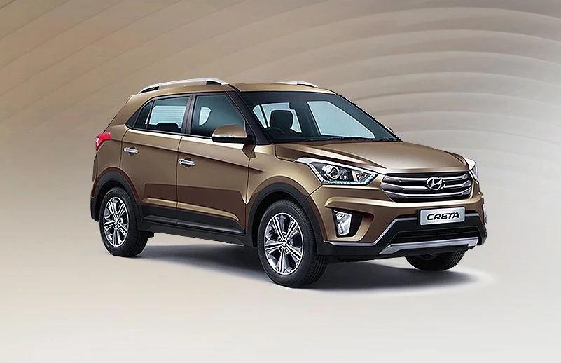 Hyundai Creta Earth Brown